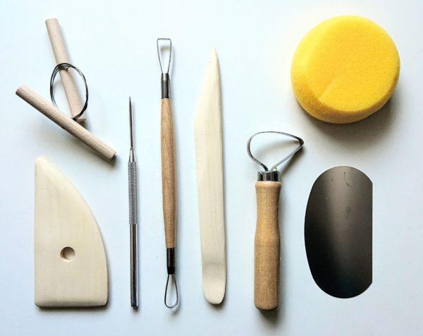 ceramika narzędzia zestaw